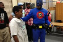 Mentorship / DangerMan the Urban Superhero reaches out to the youth in America