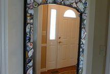 mosaic mirrors inspiration