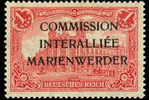 Marienwerder Stamps