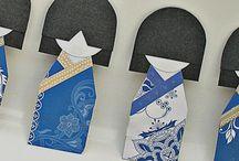 origami  bamboline