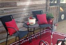 Painted Deck floors
