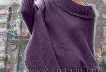 oversize свитера