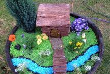 Fairy Garden Ideas / by Kristen Erfle
