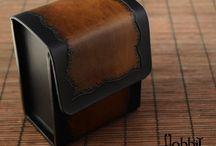 Leather Deck Box / Card Box