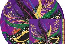 Mardi Gras Party / Throw a Mardi Gras party your friends won't forget! Find Mardi Gras party supplies, decorations, recipes, and more!