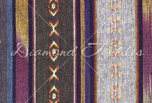 Native American Inspired Design / fair trade Home Deco fabrics from Diamond Textiles