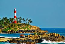 Kovalam Tourism / Kovalam is one of internationally well known Kerala beaches town located on the coast of the Arabian Sea