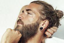 Men's hair - man buns