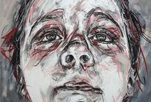 Mixed Media Art / Travail Mixte / Diane