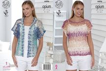 Cool Summer Tops in Crochet / Cool Cotton Tops to wear this Summer