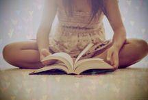 """Lire pour s'évader / """"Après le plaisir de posséder des livres, il n'y en a guère de plus doux que d'en parler."""" Charles NODIER  / by Domino Albert"""