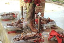 a western luncheon