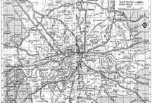 Maps of London 1949 - 1955