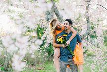 Engagement Photos / Fall | Spring | Summer | Winter | Engagement Session | Photos| Beach | Wedding | OCNJ | Ocean City, NJ | Bridal portraits | Bride | Groom | Kiss | Vintage | Classic | First Kiss
