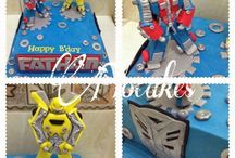 Birthday cakes by Flo Cakes