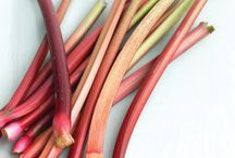 Cooking with Rhubarb