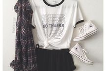 Tumblr Outfits and more♥ / Some of my fav outfits that I found on pinterest, quotes, tumblr girls, cool decoration/rooms, and more ♥