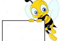 Včielky -obrázky