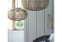 bamboe lamp