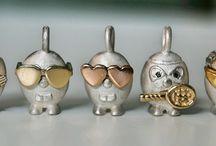Le pulci gioielli / gioielli fatti a mano in argento