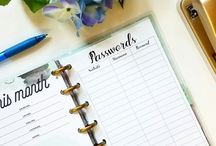 Happy planner & ideas