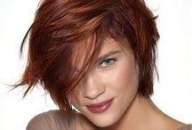 Cheveux : coupe couleur