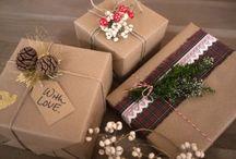 Geschenke verpacken Wrapping