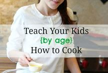 CHILD'S SCIENCE- Cooking