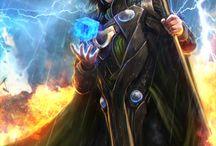 Loki (Avengers) / Tablica poświęcona w całości mojej ulubionej postaci z filmów Marvela - Lokiemu ! Zapraszam do przeglądania :D