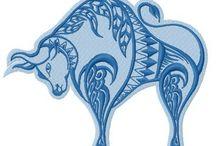 taurus and horse