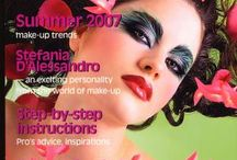 press stefania d'alessandro make-up