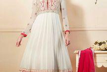 Gorgeous Giselli Monteiro Anarkali Suits