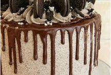 Торт облитый шоколадом