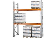 Rayonnage à palettes / Rayonnage à palettes pour stocker les palettes industrielles dans des entrepôts.