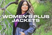 Women's Plus Jackets / by Free Country