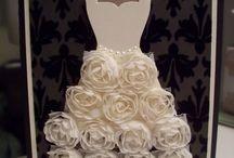 Cards : Wedding / Card ideas for weddings, anniversaries, all things Bridal!