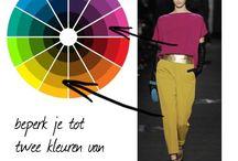 kleren kleurcombinaties