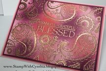 Paisley and Posies Stampin Up