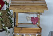 Wishing Well / Our Wishing well is a very strong and sturdy piece which will add character to your venue. You can add your own ornament to personalize it or ask us to help with the task. We can provide bespoke decorations made to your requirements in order to achieve your ideal setting. Speak to us for more details about personalized items. For more information and prop hire, please visit www.loveartdesigns.co.uk