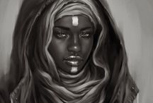 Nubian Queens / The beauty of Africa