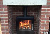 Stoves in fireplaces