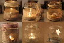 Candles / Świece / Candles - inspirations and tutorials, DIY Świece - inspiracje, DIY, tutoriale