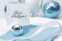 Mariage hiver marque place / Des idées de marque place pour un mariage sur l'hiver