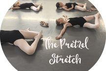 dance stretching