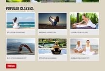 Yoga Website Templates