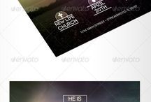 Church Marketing / Templates for church marketing materials.