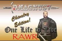 Chivalry: Medieval Warfare / A fun First Person Slasher.  The Game can be found at http://www.chivalrythegame.com