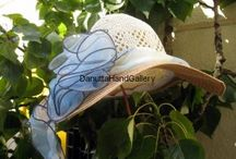 Hats - Danutta Hand Gallery / Hand-made hats by Danutta Hand Gallery artists from