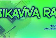 Afiches / Afiches Musikaviva Radio en la red.