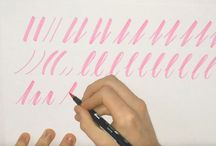Lettering / how to